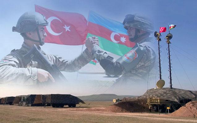 Azərbaycan və Türkiyə ordularının birgə təlimləri başladı - Video