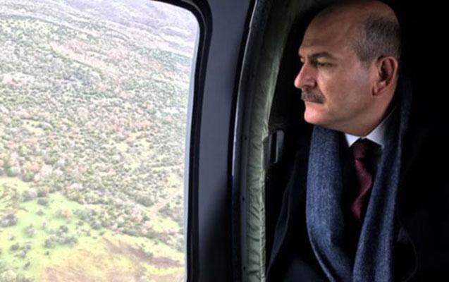 Süleyman Soylunun helikopteri məcburi eniş etdi