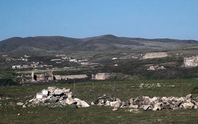 MN Füzulinin daha bir kəndinin görüntülərini yaydı - Video