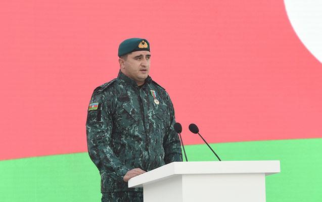 Zəngilanın azad olunmasını Prezidentə məruzə edən polkovnik danışdı