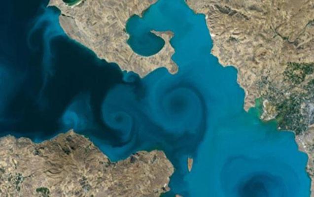 Van gölünün şəkli NASA yarışmasında birinci oldu