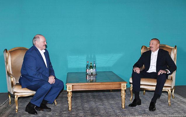 İlham Əliyevlə Lukaşenkonun qeyri-rəsmi görüşü 5 saat davam edib - Video
