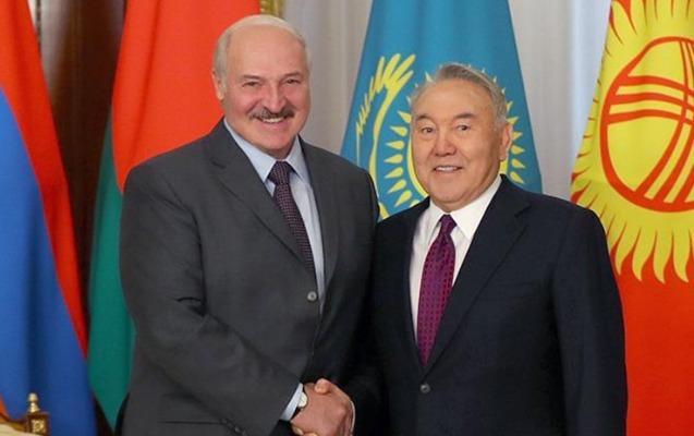 Lukaşenko ilə Nazarbayev arasında telefon danışığı olub