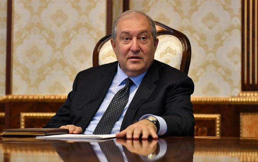 Ermənistan Prezidenti Azərbaycanla əlaqələrə ehtiyac duyur