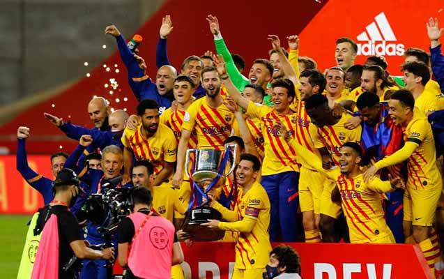 "İspaniya Kubokunu ""Barselona"" qazandı"
