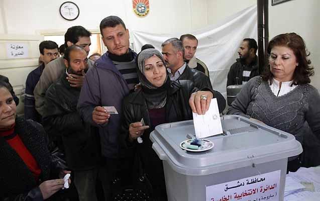 Suriyada keçiriləcək prezident seçkilərinin vaxtı açıqlandı