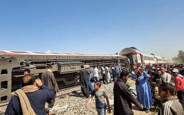 Misirdə qatar qəzası, 8 ölü, 109 yaralı