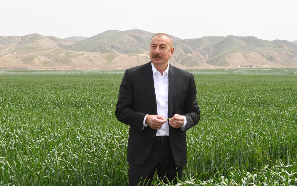 Prezidentin Hacıqabul səfərindən