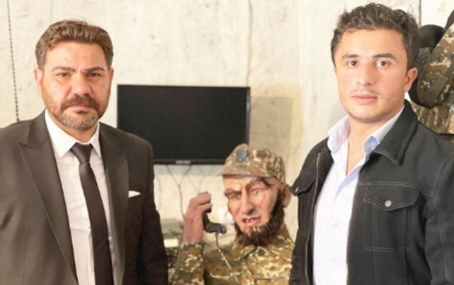 """""""Kurtlar Vadisi""""nin məşhur aktyoru Hərbi Qənimətlər Parkında"""