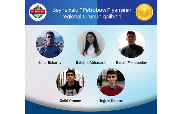 """BANM regional """"Petrobowl"""" yarışının qalibi oldu"""