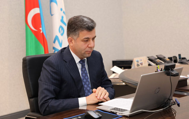 """""""Azəriqaz""""ın baş direktoru onlayn foruma qatıldı"""