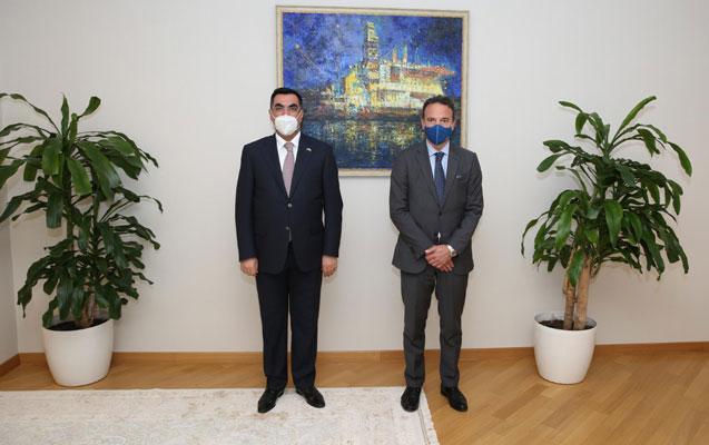 Elmar Qasımov İtaliya şirkətinin vitse-prezidenti ilə görüşdü
