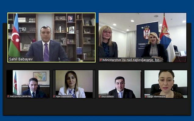 Azərbaycanla Serbiya arasında sosial təminat sahəsində əməkdaşlıq sazişi