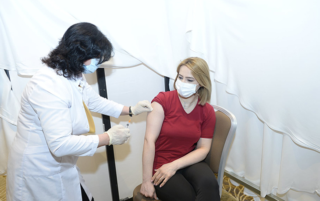 Vaksinasiyadan keçənlərin sayı açıqlandı