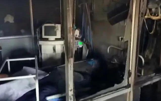 Hindistanda COVID-19 xəstələri yanaraq öldü