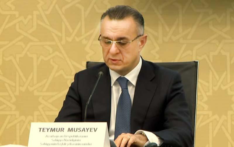 Səhiyyə nazirini əvəz edən Teymur Musayev kimdir?