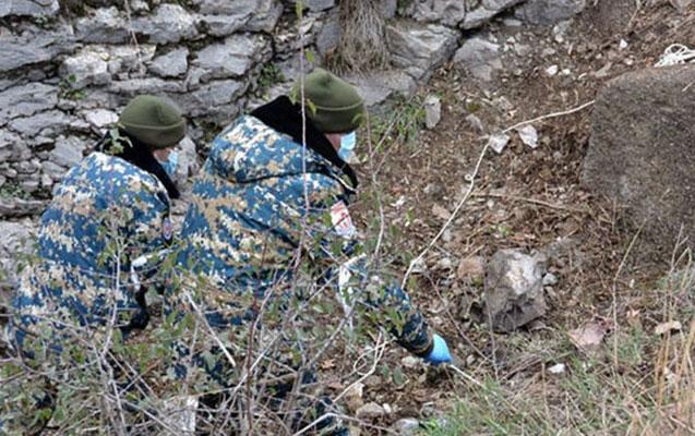 Daha bir erməni hərbçinin meyitinin qalıqları təhvil verildi
