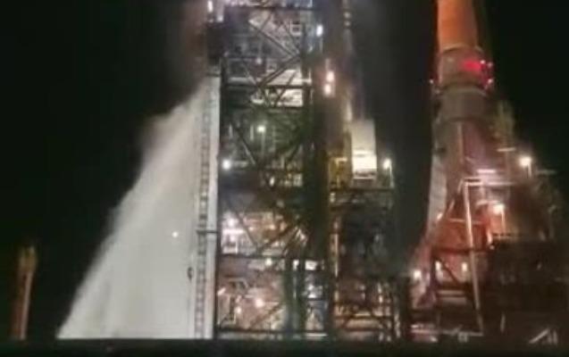 <span>İsraildə neft emalı zavodunda yanğın - </span><span xss=removed> Video</span>