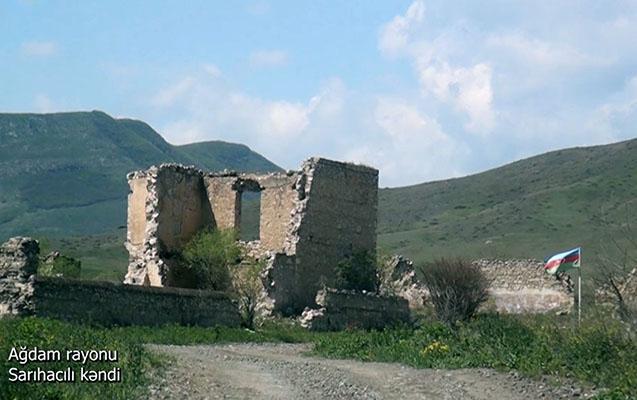 <span>Ağdam rayonunun Sarıhacılı kəndindən videogörüntülər </span><span xss=removed> </span>