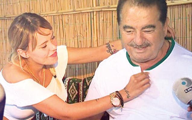 Tatlısəs özündən 43 yaş kiçik sevgilisi ilə evləndi