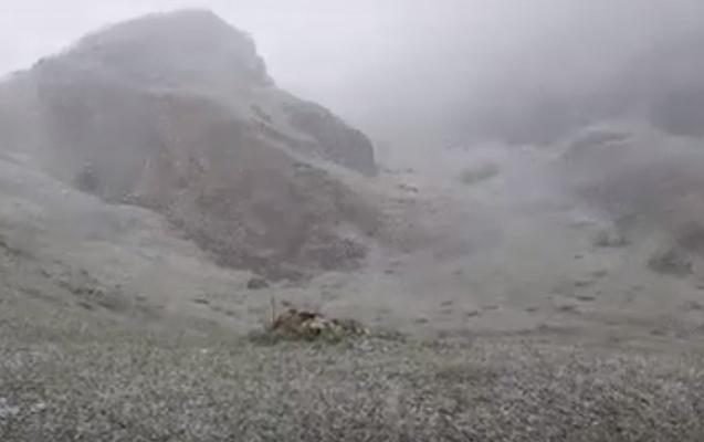 Bu ərazilərə qar yağıb - Faktiki hava