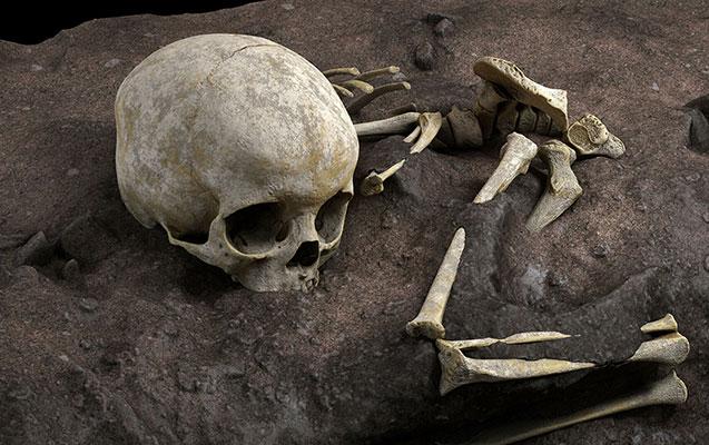 Afrikada ən qədim insan məzarı tapıldı