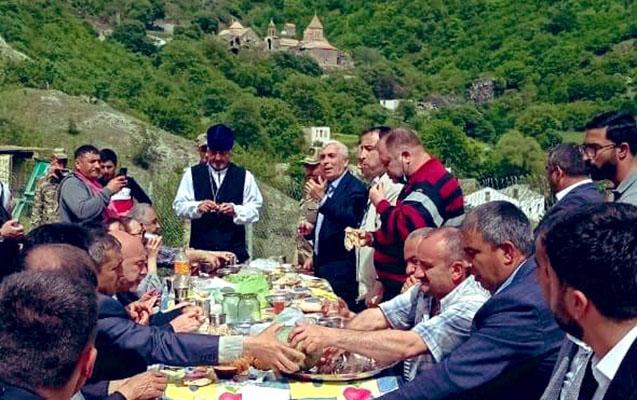 Azad Kəlbəcərdə bayram... - Foto