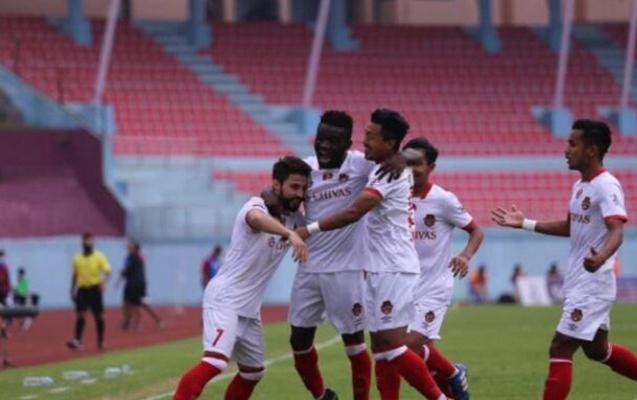 Azərbaycanlı futbolçu Nepalda qol hesabını açdı