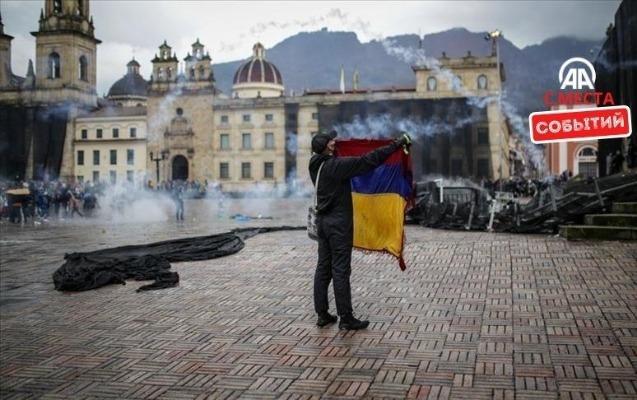 Kolumbiyada etiraz aksiyaları: ölənlərin sayı 24-ə çatdı