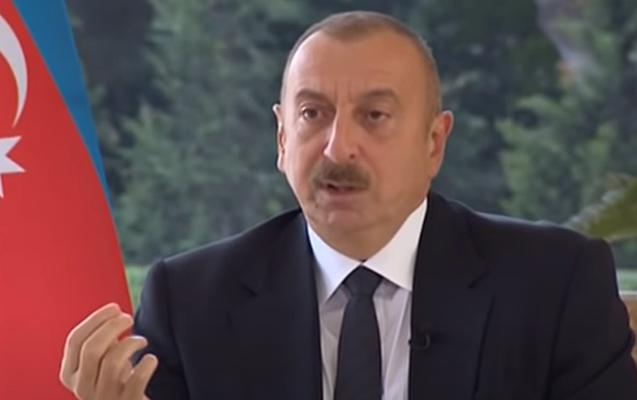 """İlham Əliyev sərhədin pozulması iddialarını """"gülməli"""" adlandırdı"""