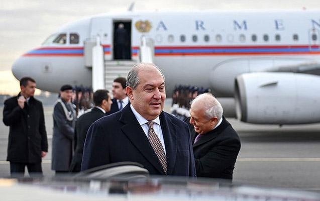 Sarkisyan Moskvaya gedir