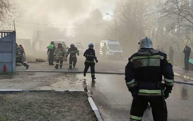 Moskvadakı yanğında ölənlərin sayı 5-ə çatdı