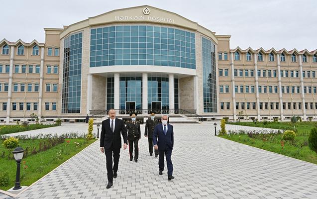 Naxçıvan Qarnizonu Mərkəzi Hospitalının açılışından