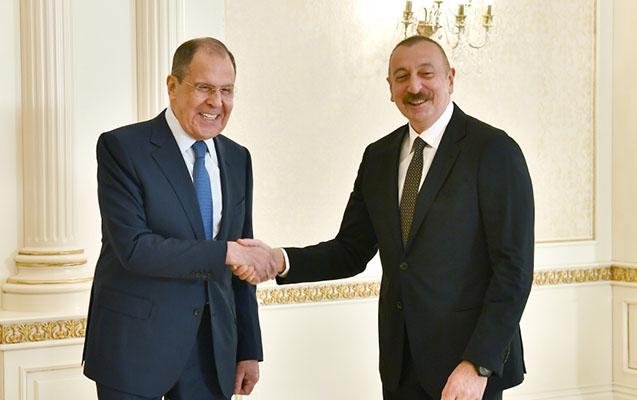 Prezident Lavrovu qəbul etdi