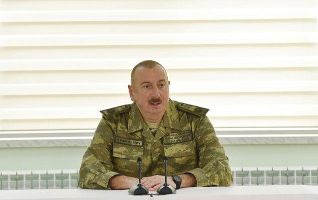 İlham Əliyev Rusiya sülhməramlılarından danışdı