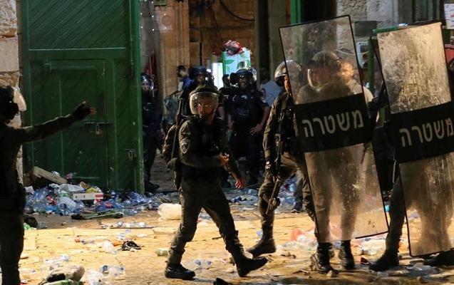 Polislə toqquşmalarda yaralanan fələstinlilərin sayı artdı