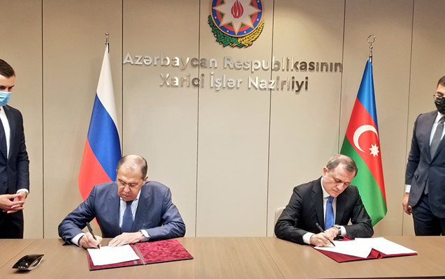 Azərbaycanla Rusiya arasında daha bir sənəd imzalandı