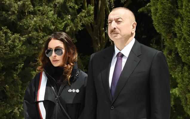 Prezident və xanımı başsağlığı verdi