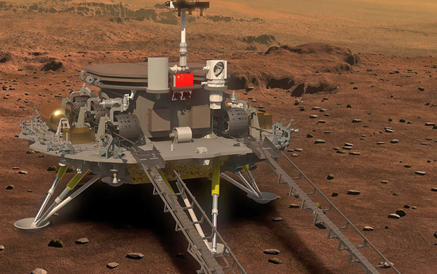 Çin Marsa enən üçüncü ölkə oldu
