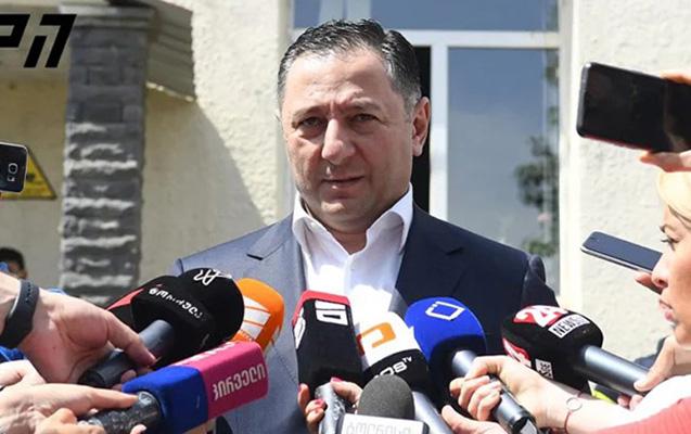 Gürcüstan daxili işlər naziri Dmanisiyə getdi