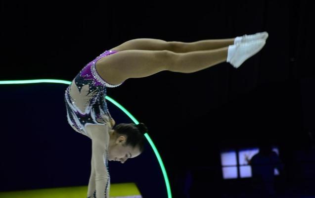 Bakıda aerobika gimnastikası üzrə dünya çempionatı davam edir