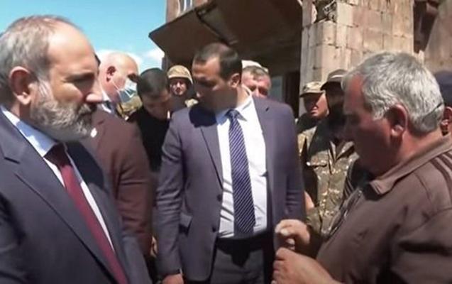 """Yerli sakinin Paşinyanla """"Türkləri məhv etməyə gəlmişik"""" dialoqu ilə bağlı açıqlama"""