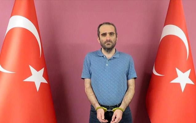 in qardaşı oğlu xaricdə tutularaq Türkiyəyə