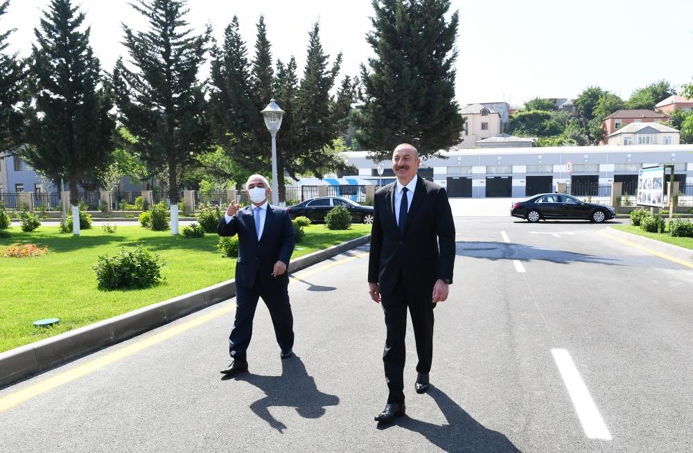 Prezident açılışa qatıldı - Fotolar
