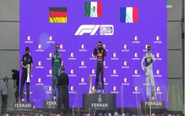 Formula 1-in qalibləri mükafatlandırıldı