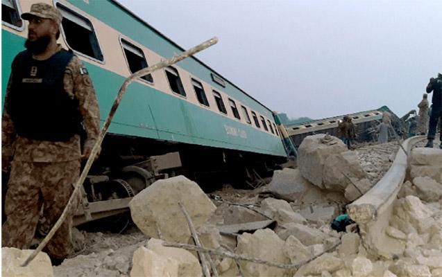 Pakistanda iki qatar toqquşdu - 36 ölü, 60-dan çox yaralı