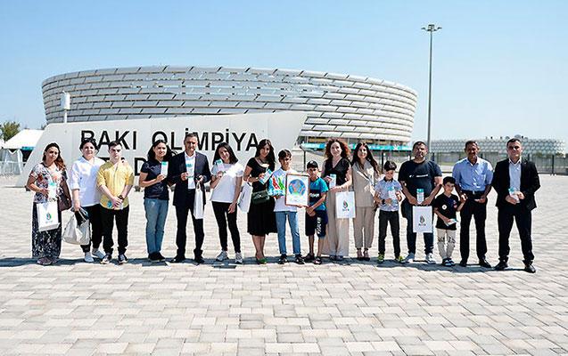 AFFA uşaqlara AÇ-2020-nin oyunlarına bilet hədiyyə etdi  - Fotolar
