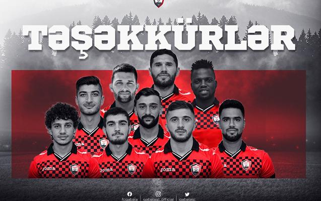 """""""Qəbələ"""" 9 futbolçunu göndərdi"""
