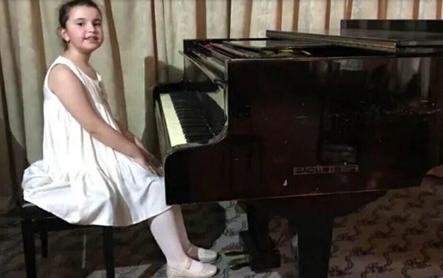 8 yaşlı azərbaycanlı Rusiyada birinci oldu