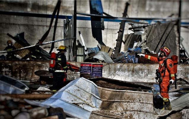 Çində bazarda partlayış: 10-dan çox ölü, 130-dan çox yaralı